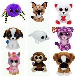 "Ty Beanie Boos 6"" Babie Baby Boo Stuffed Animal Plush Free U"