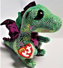 Ty Beanie Boos 6'' -CINDER THE DRAGON Stuffed Plush Animals