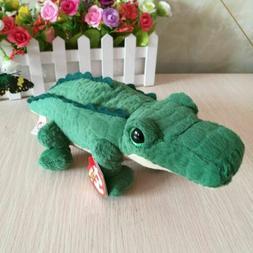 "Ty Beanie Boos 6"" Spike Alligator Reptile Plush Regular Soft"
