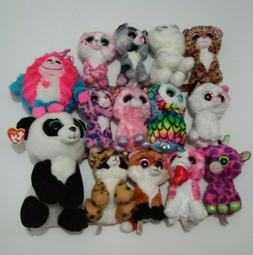 TY Beanie Boos - TY Big Eyes Lot of 14 Plush Stuffed Animals