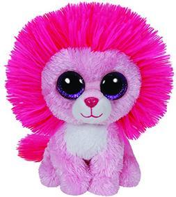 649d9fda3f6 Ty Beanie Boos Fluffy - Pink Lion