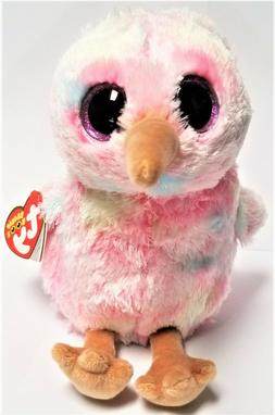 Ty Beanie Boos Kiwi The Pink Bird  6'' Stuffed Plush Animals