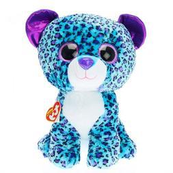 Ty Beanie Boos Lizzie - Leopard Large