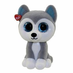 TY Beanie Babies Teeny Boos Slush the Husky w// Sequins New with tags