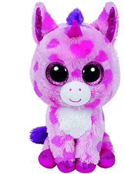 New! Ty Beanie Boos SUGAR PIE Valentine Unicorn with hearts