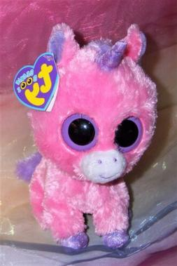 TY Beanie Boos - MAGIC the Pink Unicorn   - MWMTs Boo