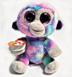 Ty Beanie Boos Zuri The Monkey 6'' Stuffed Plush Animals