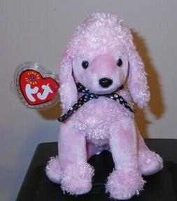 Ty Beanie Baby Brigitte - MWMT, Dog Poodle