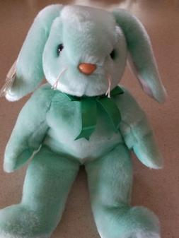 Ty Beanie Buddies Collection Hippity 1998 Green Bunny Rabbit
