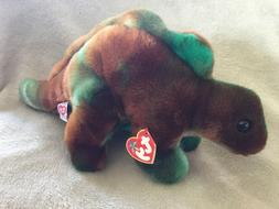 TY Beanie Buddies Steg the Stegosaurus Stuffed Animal Plush