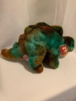 TY BEANIE BUDDIES STEG the STEGOSAURUS Stuffed Animal Dinosa