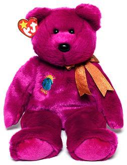 "TY Beanie Buddies Large 14"" Tall MILLENNIUM Bear NEW Conditi"