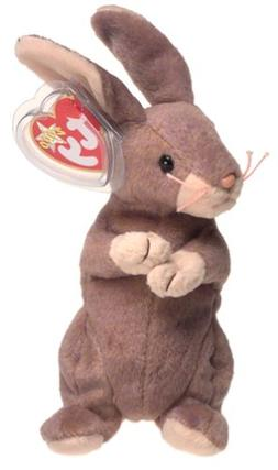 Ty Beanie Baby, Springy the Lavender Bunny Rabbit, 2000, MWM