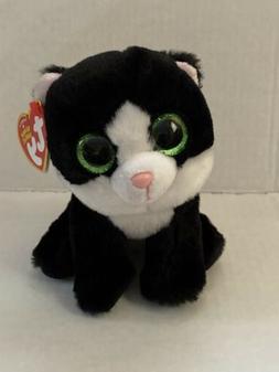 TY Beanie Baby - AVA the Black & White Cat  - MWMTs Stuffed