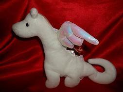 TY Beanie Baby - MAGIC the White Dragon   - MWMTs
