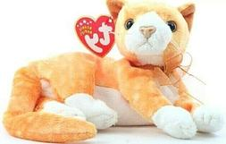 TY Beanie Baby - TABS the Cat  - MWMTs Stuffed Animal Toy