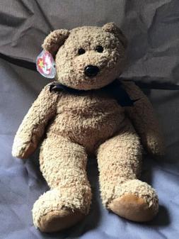 TY Beanie Original BUDDY- FUZZ - Stuffed Animal  LARGE TEDDY