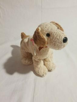TY Beanie Baby RUFUS the Terrier Dog ~ Plush Stuffed Animal