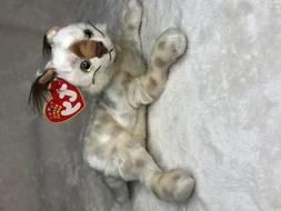 TY Beanie Baby - TRACKS the Lynx  - MWMTs Stuffed Animal Toy