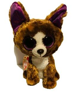 ty beanies boos Brown Chihuahua Dexter Stuffed 6 inches plus
