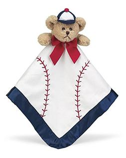 Bearington Bear  Baby Collection Wee Lil' Slugger Lovey Secu