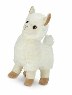Bearington Alma Plush Stuffed Animal Llama, 10 inches