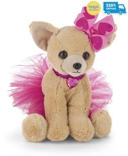 Bearington Chichi Chihuahua Stuffed Animal Toy Puppy Dog Wit