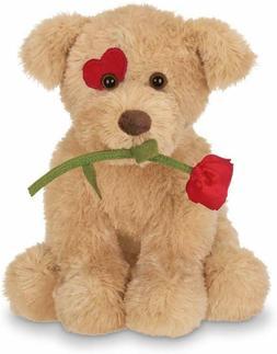 Bearington Conner Cuddlesmore Plush Stuffed Puppy Dog with R