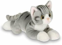 Bearington Lil' Socks Small Plush Stuffed Animal Gray Stripe