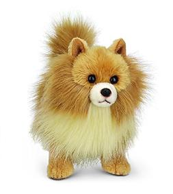 Bearington Rudy Pomeranian Plush Stuffed Animal Puppy Dog, 1