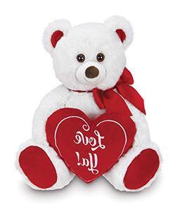 Bearington Beary Bigheart Valentines Plush Stuffed Animal Te