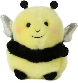 Bee Happy Rolly Pet 5 inch - Stuffed Animal by Aurora Plush