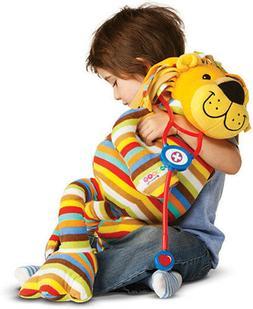 Melissa & Doug Beeposh Elvis Lion Stuffed Animal - 28 - Flee
