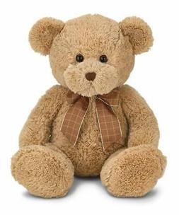 Bearington Benson Brown Plush Stuffed Animal Teddy Bear, 16