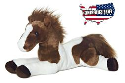 Best Plush Super Soft Brown Cute Horse Toy Stuffed Animal Bi