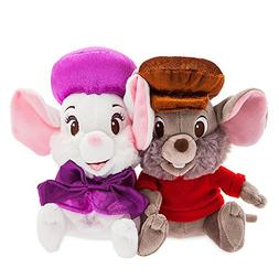 Disney Miss Bianca and Bernard Plush Set - The Rescuers - Sm