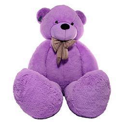 Joyfay Big Purple Teddy Bear-Over 7 feet tall Giant Teddy Be