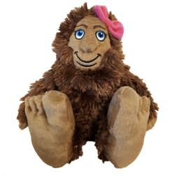 "Bigfoot She Sasquatch 10"" Stuffed Animal Plush"