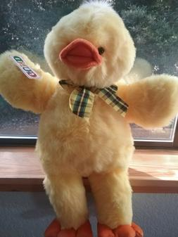 Gund Billyduck Billy Duck Large Plush Stuffed Easter Toy wit