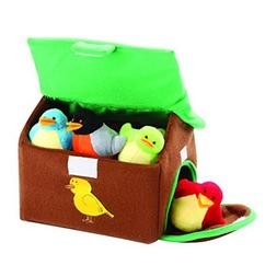 Animal House Animals Sound Toys with Carrier | Plush Baby Gi