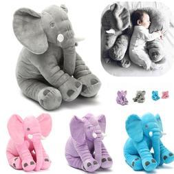 Birthday Plush Lovely Elephant Animal Pillow Stuffed Baby Cu