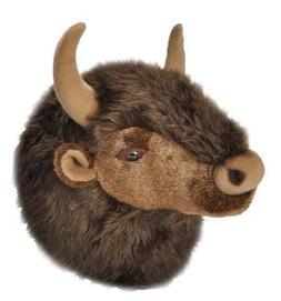 Wild Republic Wild Bison  Plush Head