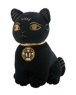 Black Cat Bastet Egyptian Mythology Goddess Stuffed Animal P