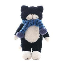 Black Cat Stuffed Animals Plush Doll Baby Home Decoration So