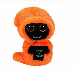"Black Face 6"" Ty Beanie Boos Puppy Glitter Big Eyes Plush St"