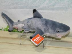 Wild Republic Black Tipped Shark Plush, Stuffed Animal, Plus