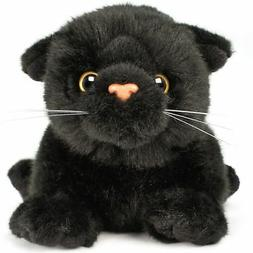 VIAHART Blarney The Black Cat | 7 Inch  Animal Plush | by Ti