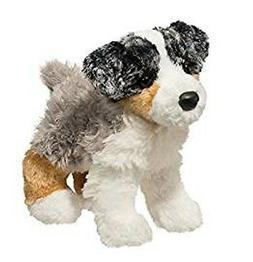 10 Inch Blitz Australian Shepherd Dog Plush Stuffed Animal b