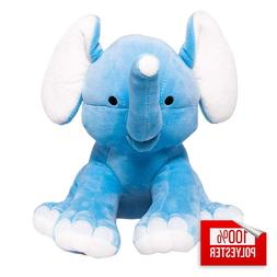 Blue Elephant Stuffed Animal For Kids