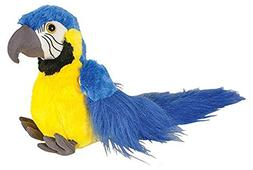 blue gold macaw parrot stuffed